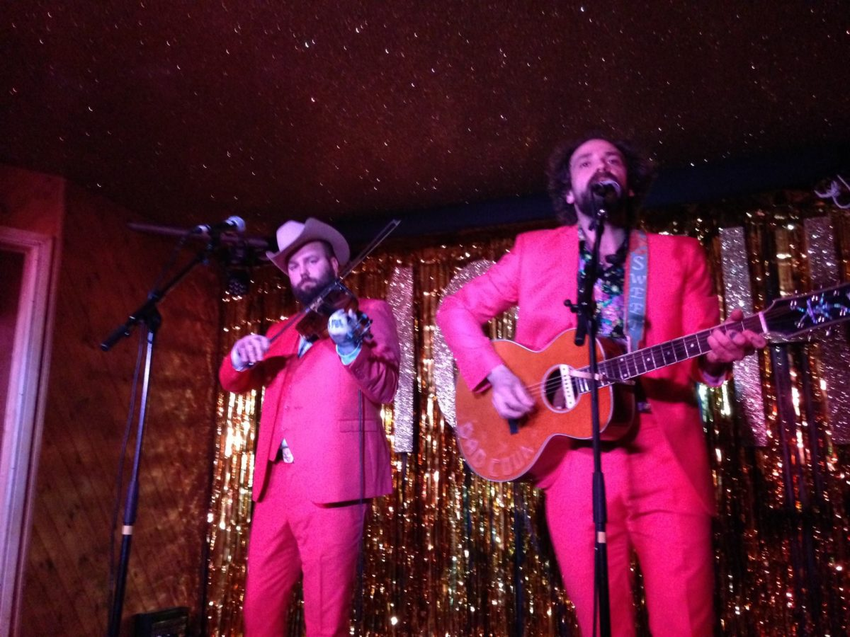 Jonny Fritz live Moth Club London review