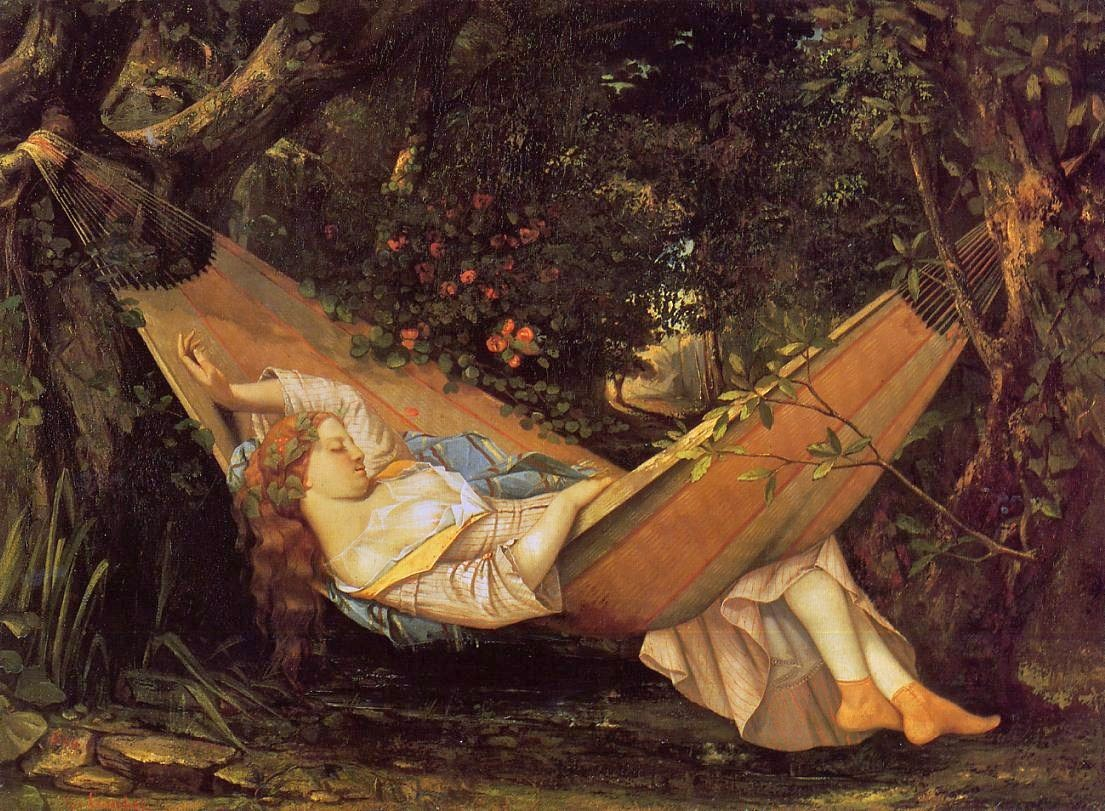 free-by-gustave-courbet