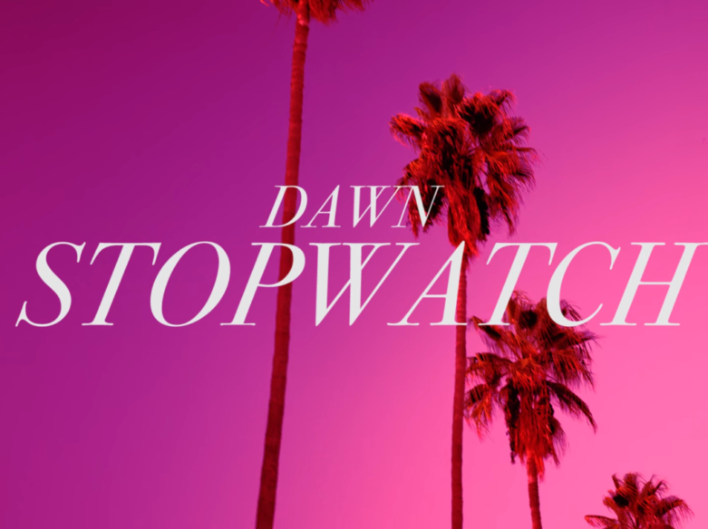 DAWN RICHARD STOPWATCH