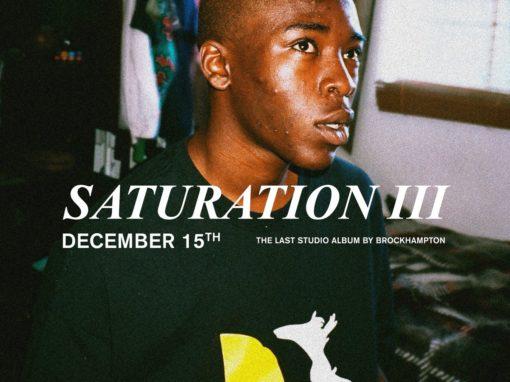 Saturation III Brockhampton