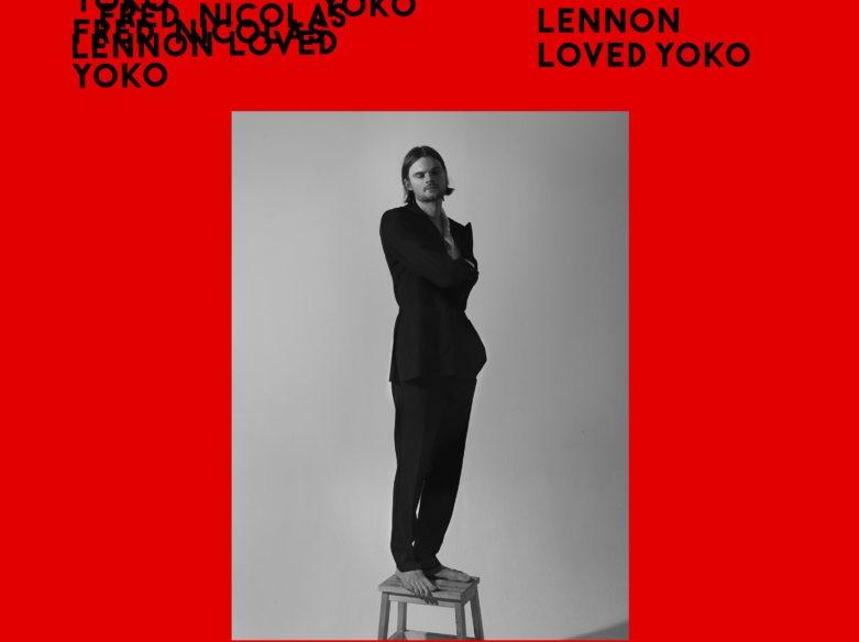 Fred Nicolas Lennon Yoko