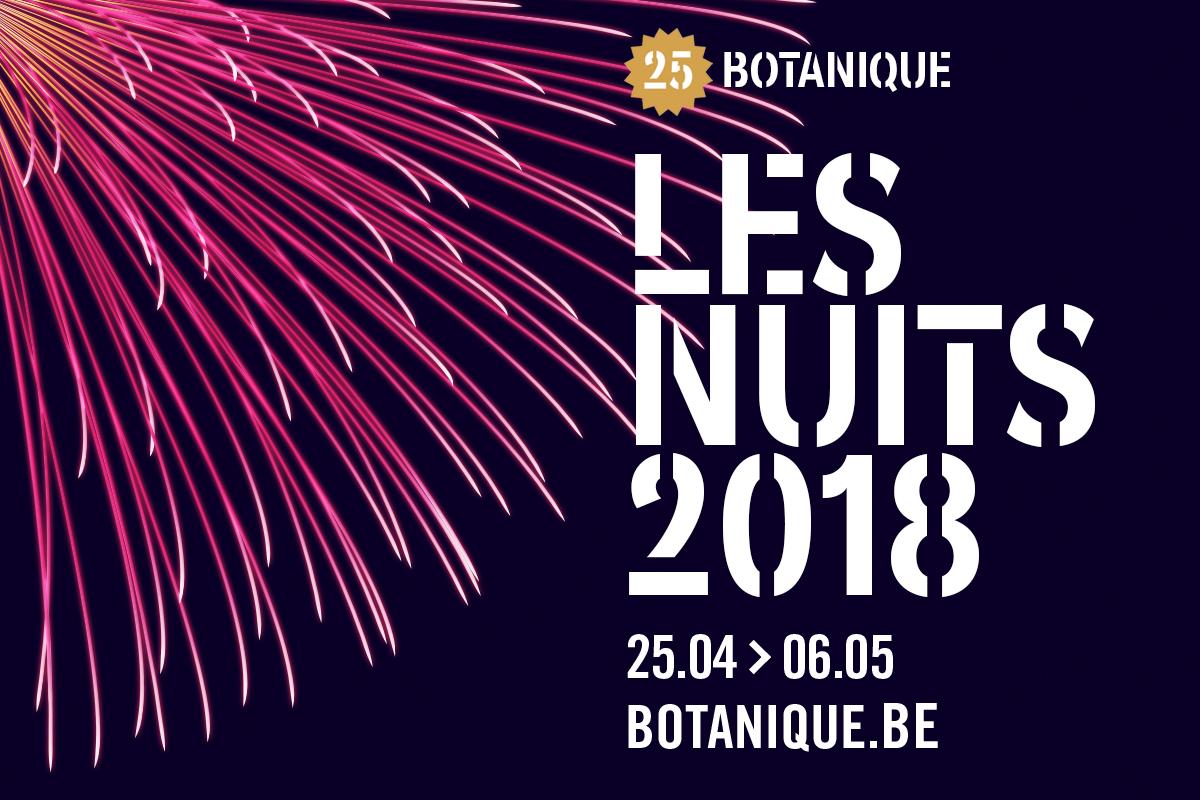 Les Nuits 2018 Botanique Bruxelles