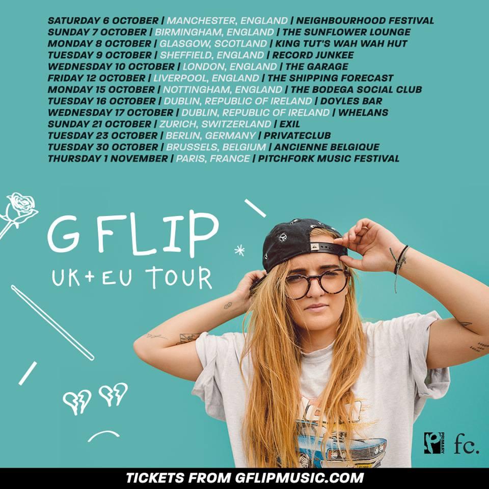 G Flip tour 2018