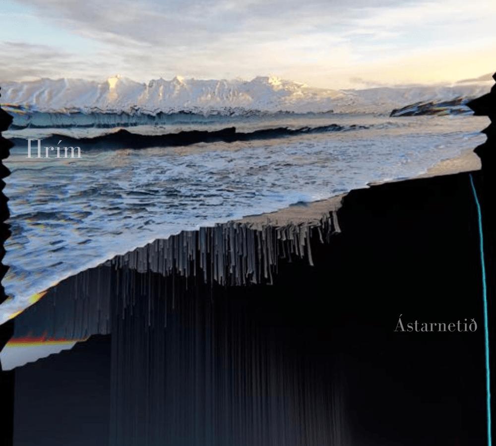 Hrim Ástarnetið Come Lay low artwork