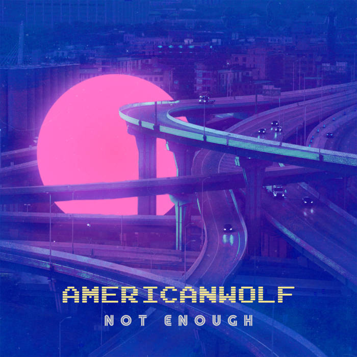 American Wolf Not Enough : artwork by VAPORHEEL