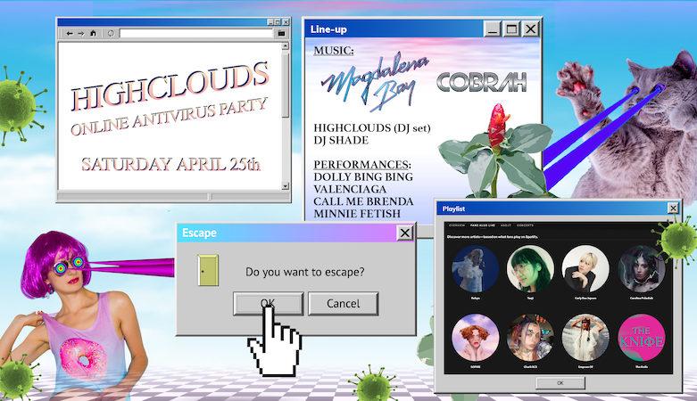 HighClouds Online Antivirus Party Magdalena Bay COBRAH Dolly Bing Bing
