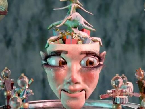 girlhouse - ugly xmas sweater party visualizer