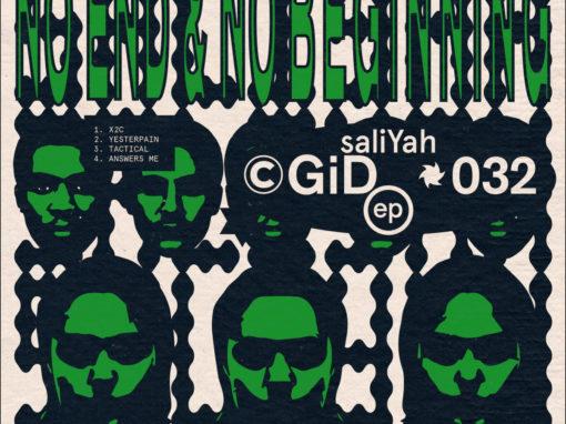 Saliyah No End & No Beginning EP Tactical